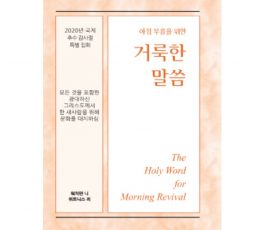 HWMR (KOR): The All-inclusive, Extensive Christ Replacing Culture for the One New Man
