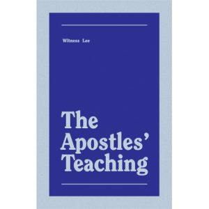 Apostles' Teaching, The