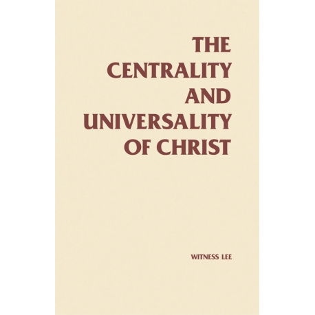 Centrality and Universality of Christ, The