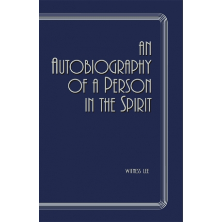Autobiography of a Person in the Spirit, An