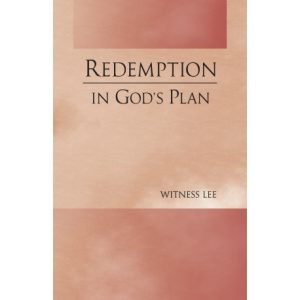 Redemption in God's Plan