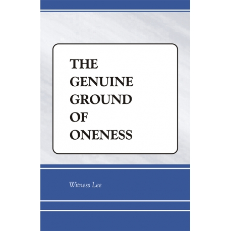 Genuine Ground of Oneness, The