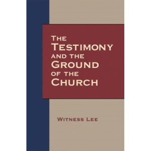Testimony and the Ground of the Church, The