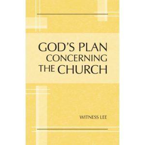 God's Plan concerning the Church