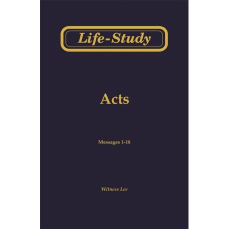 Life-Study of Acts (4 volume set)
