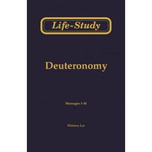 Life-Study of Deuteronomy