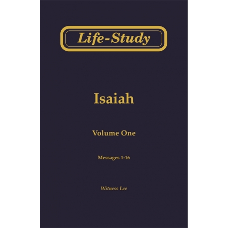 Life-Study of Isaiah (3 volume set)