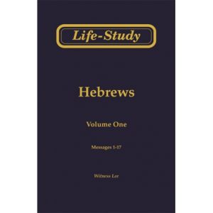 Life-Study of Hebrews (4 volume set)