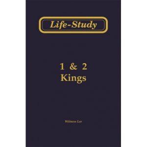 Life-Study of 1 & 2 Kings
