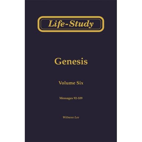 Life-Study of Genesis, Vol. 6 (92-109)