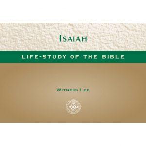 Life-Study of Isaiah (Pocket-size Edition) (1-54)
