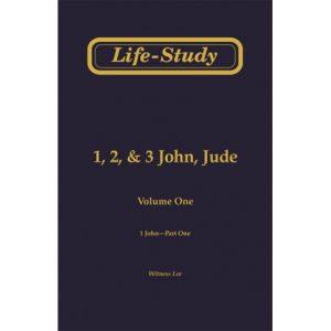 Life-Study of 1, 2 & 3 John, Jude (2 volume set)
