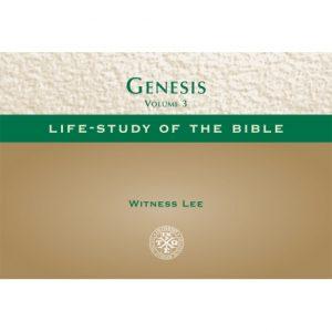 Life-Study of Genesis, Vol. 3 (Pocket-size Edition) (78-120)