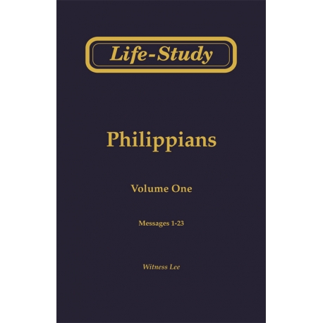 Life-Study of Philippians (3 volume set)