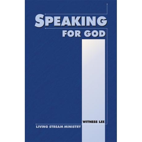 Speaking for God