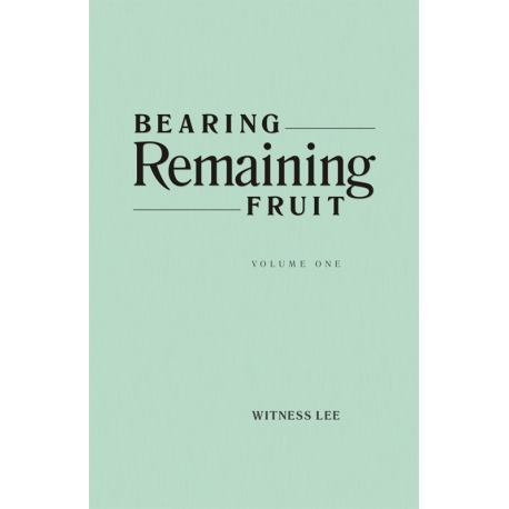 Bearing Remaining Fruit (2 volume set)
