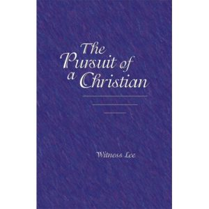 Pursuit of a Christian, The