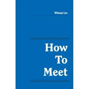 How to Meet