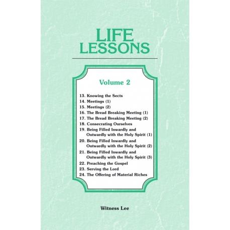 Life Lessons, Vol. 2 (13-24)