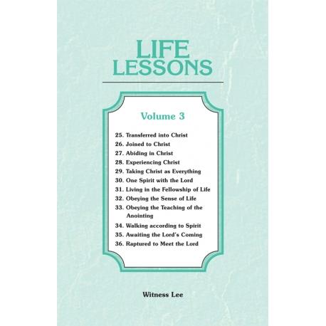 Life Lessons, Vol. 3 (25-36)