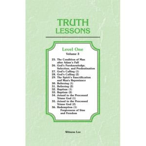 Truth Lessons, Level 1, Vol. 3