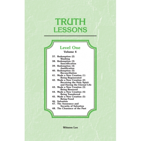 Truth Lessons, Level 1, Vol. 4