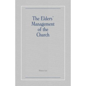 Elders' Management of the Church, The