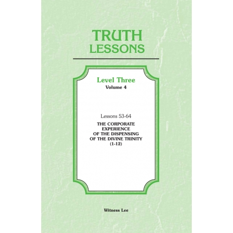 Truth Lessons, Level 3, Vol. 4