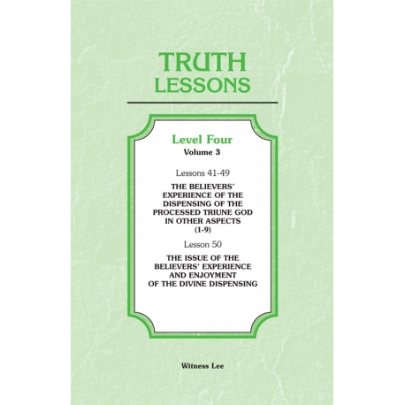 Truth Lessons, Level 4, Vol. 3