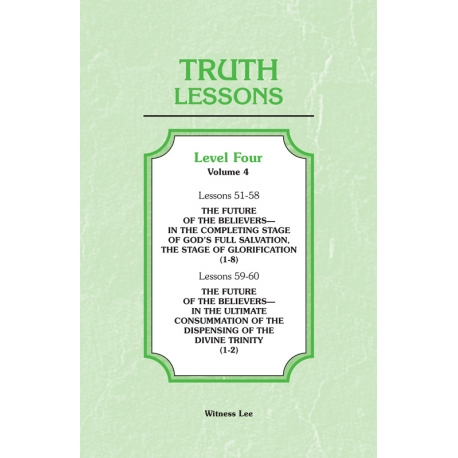 Truth Lessons, Level 4, Vol. 4