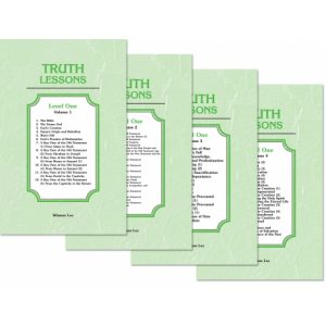 Truth Lessons, Level 1 (4 volume set)