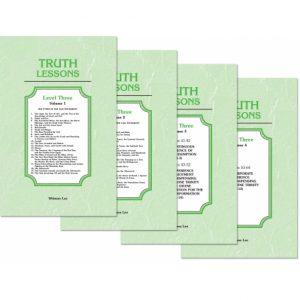 Truth Lessons, Level 3 (4 volume set)