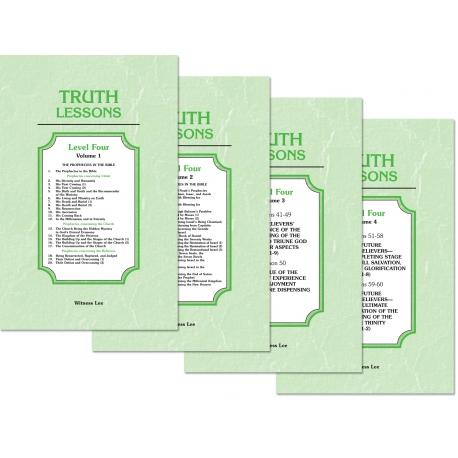 Truth Lessons, Level 4 (4 volume set)