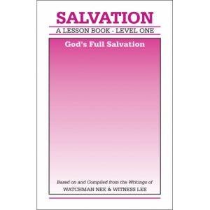 Lesson Book, Level 1: Salvation -- God's Full Salvation