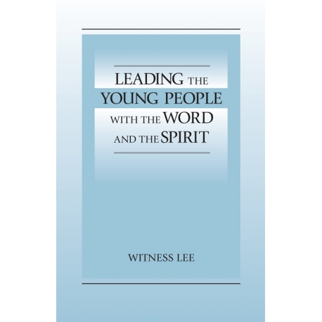 Leading the Young People with the Word and the Spirit