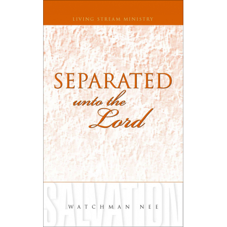 Separated unto the Lord