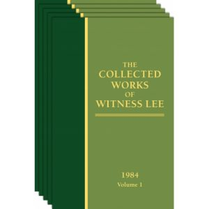 Collected Works of Witness Lee, The (1984) Vol. 1 - 5